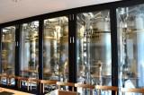 17日オープン「ログロード代官山」内部公開 キリンの新業態店舗ダイニング「SPRING VALLEY BREWERY TOKYO」 店内に設置されたタンク (C)oricon ME inc.