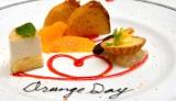 4月14日の「オレンジデー」を記念し行われたイベント「シトラスレストラン presented by Sunkist」で振る舞われたデザート (C)oricon ME inc.