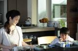 テレビ朝日系『アイムホーム』初回の「ふわとろオムライス」のシーン(C)テレビ朝日