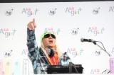早朝イベント『Asagirl+』でスペシャルステージを披露したTRFのDJ KOO