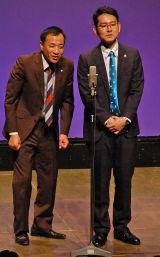 2007年に史上最年少で漫才協会の理事に就任したナイツの塙宣之(左)と土屋伸之 (C)ORICON NewS inc.