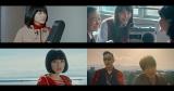 コブクロ新曲「hana」MVは土屋太鳳(左上)、松井愛莉(右上)、広瀬すず(左下)の青春ストーリー