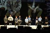 EXO(左からセフン、チャンヨル、チェン、レイ、スホ、ベクヒョン、ディオ、シウミン、カイ)