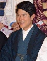 TBSテレビ60周年特別企画『天皇の料理番』の制作発表会見に出席した鈴木亮平 (C)ORICON NewS inc.