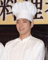 TBSテレビ60周年特別企画『天皇の料理番』の制作発表会見に出席した柄本佑 (C)ORICON NewS inc.