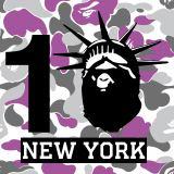 「BAPE STORE(R)NEW YORK」10周年で豪華コラボが実現