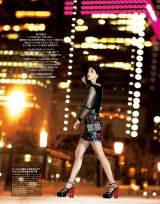 女性ファッション雑誌『25ans』の誌面を飾る水原希子