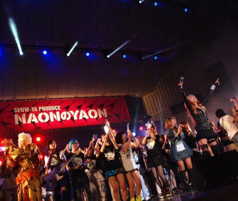 『NAONのYAON 2015』出演者でシーナ&ロケッツの代表曲「LENON TEA」を大合唱 (C)ORICON NewS inc.