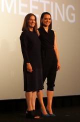 (左から)キャスリーン・ケネディ、デイジー・リドリー (C)ORICON NewS inc.