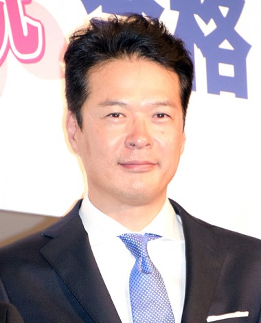 映画『ビリギャル』の初日舞台あいさつに出席した田中哲司(C)