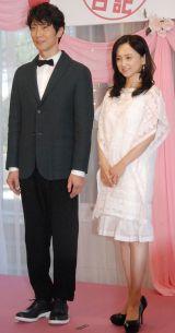 映画『夫婦フーフー日記』公開記念イベントに出席した(左から)佐々木蔵之介、永作博美 (C)ORICON NewS inc.