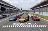富士スピードウェイで行われた新型メルセデス AMG GTプレス発表会の模様