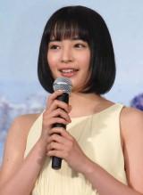 映画『海街diary』完成披露イベントに出席した広瀬すず (C)ORICON NewS inc.