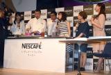 『NESCAFE Smart Lifeトークショー』の模様(C)ORICON NewS inc.