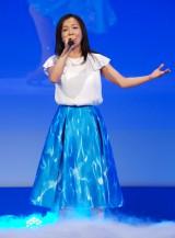 ディズニー・オン・アイス日本公演30周年記念のアニバーサリーソングを歌う華原朋美 (C)ORICON NewS inc.