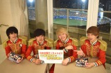 新たな目標・横浜スタジアムを背に決意表明したDISH//