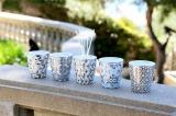 フランス発のアロマブランド「ローズ エ マリウス」の夏に向けた新作タンブラー アロマキャンドル以外にもディフューザーや花瓶などとしても使用できる