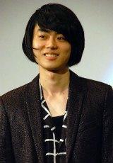 映画『明烏 あけがらす』初日舞台あいさつに出席した菅田将暉 (C)ORICON NewS inc.