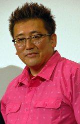 映画『明烏 あけがらす』初日舞台あいさつに出席した福田雄一監督 (C)ORICON NewS inc.