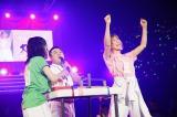 『第2回AKB48大運動会』のアームレスリングで優勝した大家志津香 (C)AKS