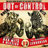 MAN WITH A MISSIONとゼブラヘッドのスプリット盤『Out of Control』(20日発売)初回盤