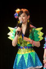 上西恵は『第7回AKB48選抜総選挙』投票速報で34位にランクイン=チームN 『ここにだって天使はいる』公演 (C)AKS