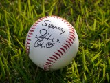 Superflyのサインボール。『第97回全国高校野球選手権大会』は8月6日開幕(C)ABC