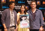 (左から)M・ナイト・シャマラン、豊田エリー、マット・ディロン (C)ORICON NewS inc.