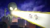 FROGMAN監督のフラッシュアニメとは一味違う豪華で壮大なオープニング(C)天才バカヴォン製作委員会