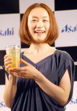 『東京スカイツリータウン開業3周年記念 乾杯イベント』に出席した上村愛子 (C)ORICON NewS inc.