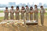 メンバー全員で和気あいあいとBBQを満喫した私立恵比寿中学 (C)ORICON NewS inc.