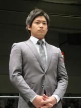 DDTプロレスリングに練習生として入団したお笑いコンビ・てのりタイガーの渡瀬瑞基