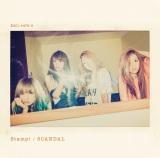 SCANDALニューシングル「Stamp!」初回生産限定盤A
