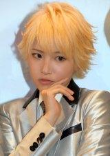 「THE HOOPERS」2ndシングル「雨を追いかけて」のリリースイベントに出演した泉貴(ミズキ)(C)ORICON NewS inc.