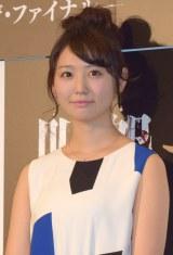映画『呪怨 −ザ・ファイナル−』の完成披露舞台あいさつに出席したおのののか (C)ORICON NewS inc.