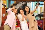 『さんまのまんま』に長澤まさみと広瀬すずが登場。関西テレビは6月6日、フジテレビは6月7日放送(C)関西テレビ