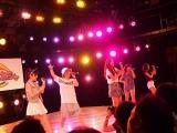 テレビ朝日で毎週金曜深夜に放送されているサバイバルライブバトル『アイドルお宝くじ』6月5日放送回に出場したDancing Dolls (C)ORICON NewS inc.