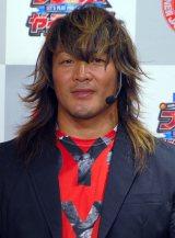 自身のゲームキャラクターが「ふかわりょうさんに似てますね」と語った棚橋弘至(C)ORICON NewS inc.