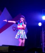 インドネシア・ジャカルタで開催された『J Series Festival』に出演したDoll☆Elementsの小森ゆきの