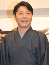 『内子座創建100周年記念事業』記者発表会に出席した野村万蔵 (C)ORICON NewS inc.