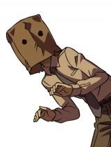影男(CV:子安武人)…少女愛好家で、紙袋を被った変装の達人にして稀代の怪盗。誰も本当の顔を知らない (C) 乱歩奇譚倶楽部