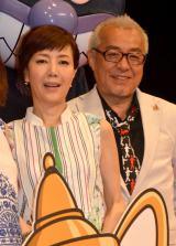 映画『それいけ!アンパンマン ミージャと魔法のランプ』完成披露親子試写会に出席した(左から)戸田恵子、中尾隆聖 (C)ORICON NewS inc.