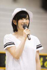 『NMB48 リクエストアワー セットリスト ベスト100 2015』開催を発表したNMB48の山本彩(C)NMB48
