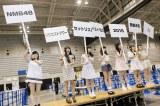 ※注:右端の渋谷凪咲の「!!」が上下逆なのは、過去のコンサートでプラカードを逆に持ったエピソードによるネタです