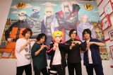 アニメ映画『BORUTO -NARUTO THE MOVIE-』(8月7日公開)の主題歌を担当するKANA-BOON