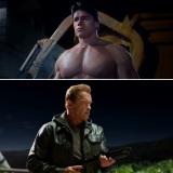 """新旧ターミネーターの対決が話題の『ターミネーター:新起動/ジェニシス』 シリーズの""""生みの親""""ことジェームズ・キャメロン監督が同作を語る映像が公開された (C)2015 Paramount Pictures. All Rights Reserved."""