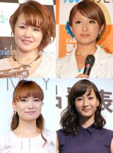 (左上段から)中澤裕子、矢口真里、(左下段から)保田圭、藤本美貴 (C)ORICON NewS inc.