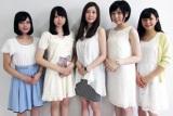 『Miss YCU contest2015』ファイナリストの(左から)五十嵐ゆりさん、光嶋悠さん、伊形美可子さん、仁平珠央さん、田中千尋さん