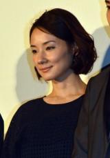 映画『愛を積むひと』初日舞台あいさつに登壇した吉田羊 (C)ORICON NewS inc.