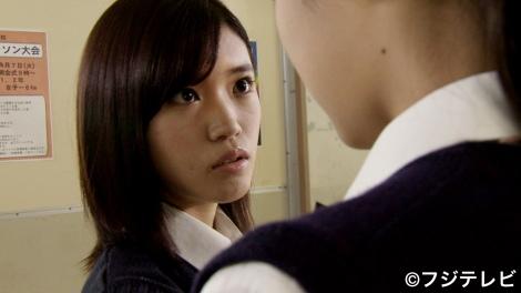 『痛快TV スカッとジャパン2時間SP』の「胸キュンスカッと」に出演時の、美山加恋。